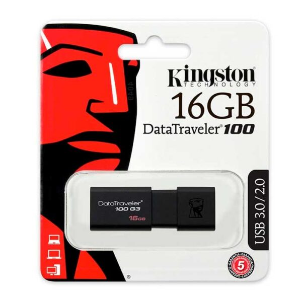 Pendrive Kingston DT100 USB 3.0 16 GB