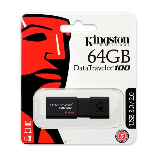 Pendrive Kingston DT100 USB 3.0 64 GB