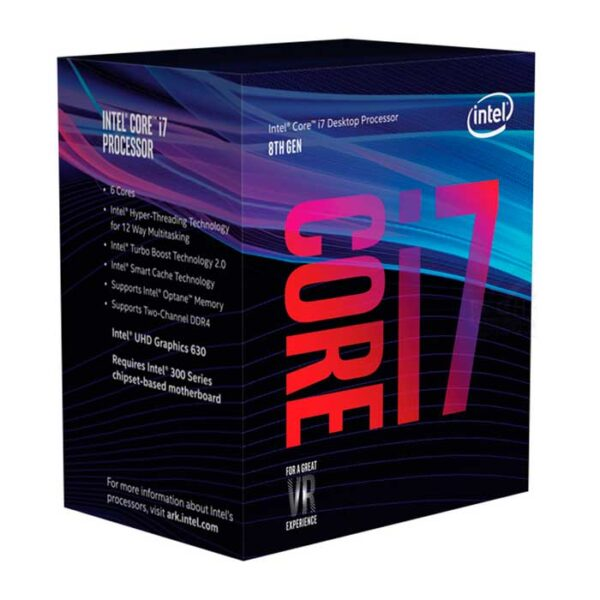Procesador Intel i7 Coffee Lake 8ª Generación